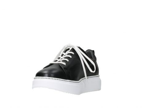 wolky lace up shoes 05875 move it 20000 black leather_9