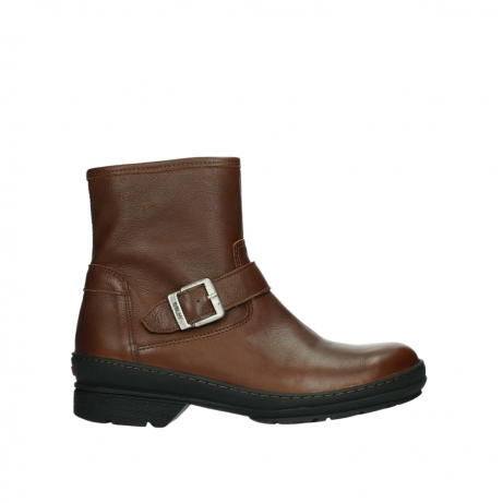 wolky ankle boots 07641 nitra 24430 cognac leather