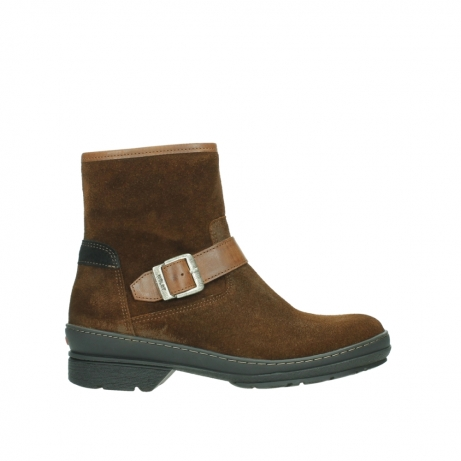 wolky ankle boots 07642 nitra wp 45410 tobacco suede