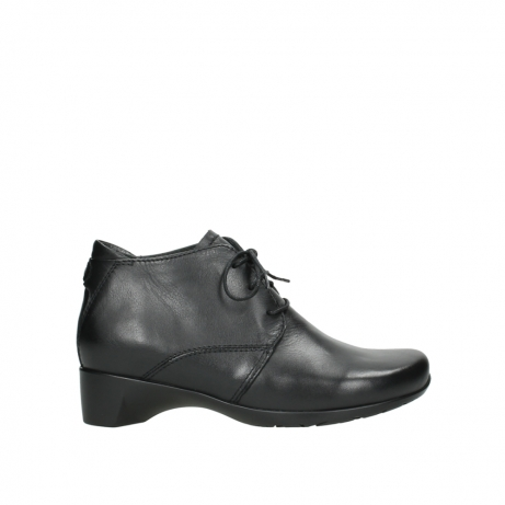 wolky ankle boots 07821 zircon 20000 black leather
