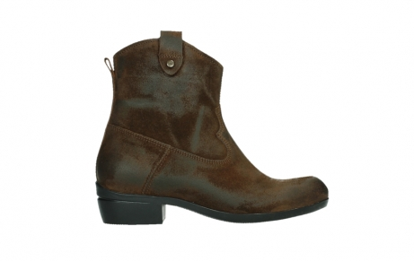 wolky ankle boots 00960 finley 45410 tobacco suede_1