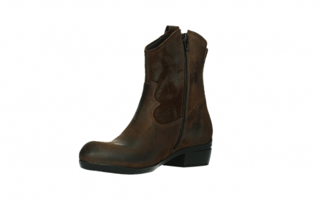 wolky ankle boots 00960 finley 45410 tobacco suede_10