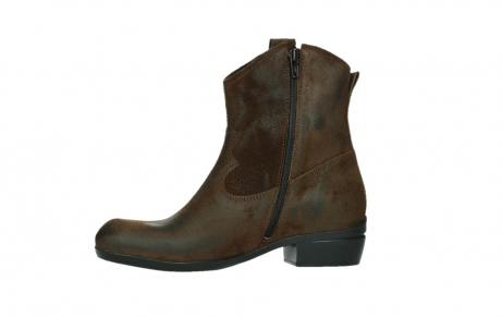 wolky ankle boots 00960 finley 45410 tobacco suede_12