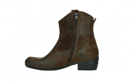 wolky ankle boots 00960 finley 45410 tobacco suede_13
