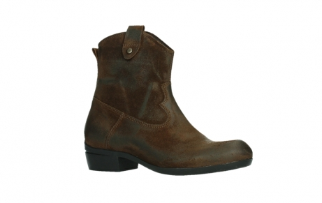 wolky ankle boots 00960 finley 45410 tobacco suede_3