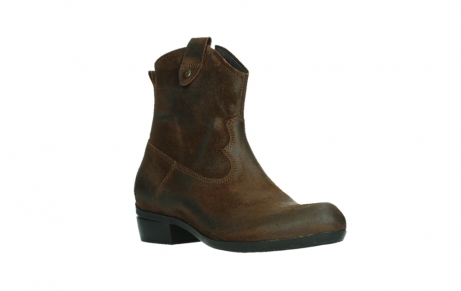 wolky ankle boots 00960 finley 45410 tobacco suede_4