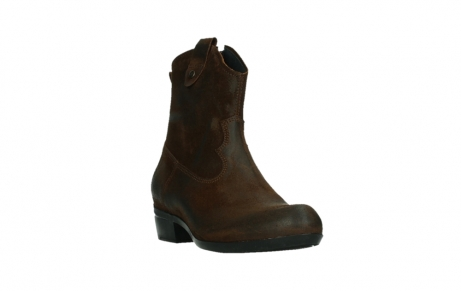 wolky ankle boots 00960 finley 45410 tobacco suede_5