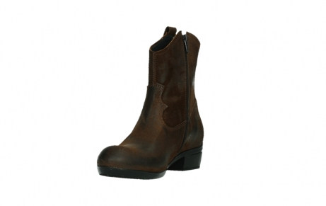 wolky ankle boots 00960 finley 45410 tobacco suede_9