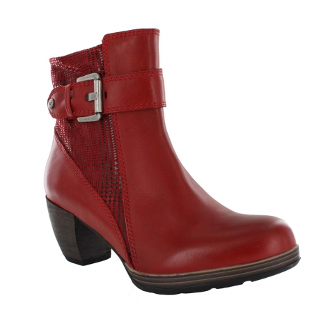 wolky ankle boots u 07986 pristina 50500 red leather