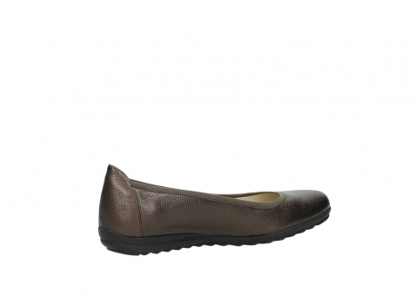 wolky ballet pumps 00125 lausanne 81300 brown metallic leather_11