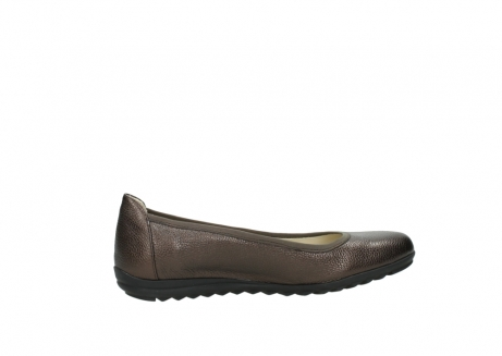 wolky ballet pumps 00125 lausanne 81300 brown metallic leather_12