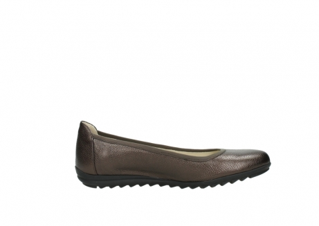 wolky ballet pumps 00125 lausanne 81300 brown metallic leather_13