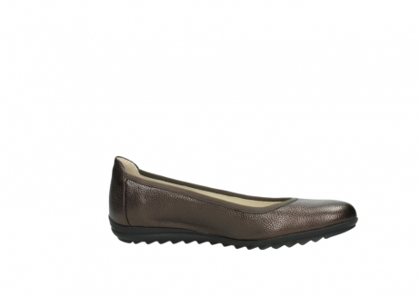 wolky ballet pumps 00125 lausanne 81300 brown metallic leather_14