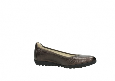 wolky ballet pumps 00125 lausanne 81300 brown metallic leather_15