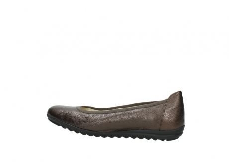 wolky ballet pumps 00125 lausanne 81300 brown metallic leather_2