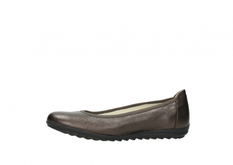 wolky ballet pumps 00125 lausanne 81300 brown metallic leather_24