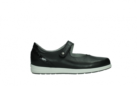 wolky mary janes 02421 electric 26070 black leather_1