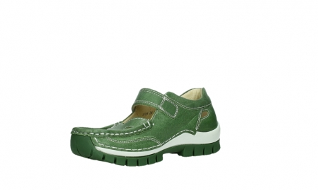 wolky mary janes 04709 step 35735 velvet green leather_10