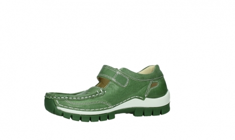 wolky mary janes 04709 step 35735 velvet green leather_11