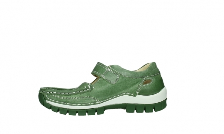 wolky mary janes 04709 step 35735 velvet green leather_12