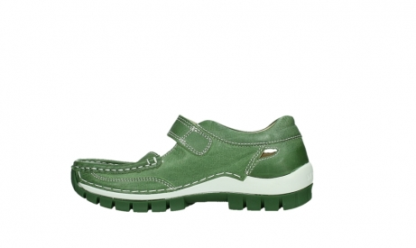 wolky mary janes 04709 step 35735 velvet green leather_13