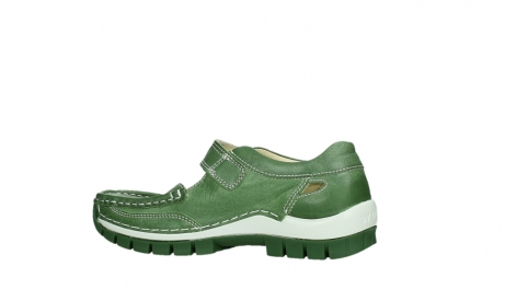 wolky mary janes 04709 step 35735 velvet green leather_14