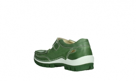 wolky mary janes 04709 step 35735 velvet green leather_16