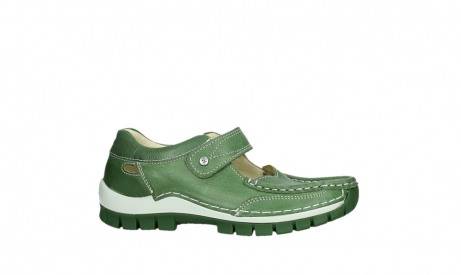 wolky mary janes 04709 step 35735 velvet green leather_2