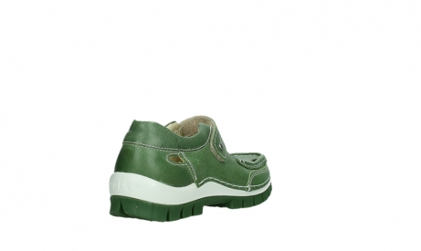wolky mary janes 04709 step 35735 velvet green leather_21