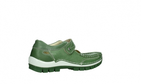 wolky mary janes 04709 step 35735 velvet green leather_23