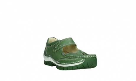 wolky mary janes 04709 step 35735 velvet green leather_5