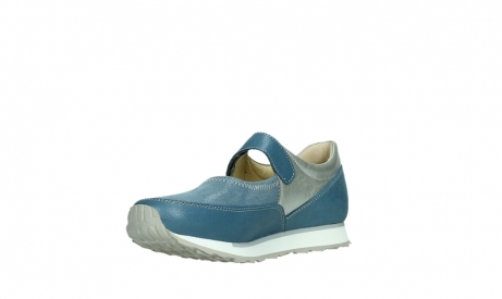 wolky mary janes 05805 e step 87860 steel blue pearl stretch leather_10