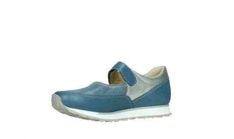 wolky mary janes 05805 e step 87860 steel blue pearl stretch leather_11