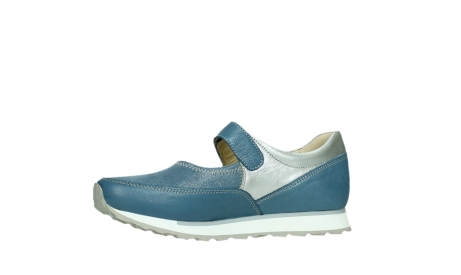 wolky mary janes 05805 e step 87860 steel blue pearl stretch leather_12