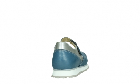 wolky mary janes 05805 e step 87860 steel blue pearl stretch leather_20