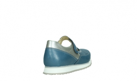 wolky mary janes 05805 e step 87860 steel blue pearl stretch leather_21