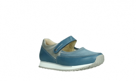 wolky mary janes 05805 e step 87860 steel blue pearl stretch leather_4