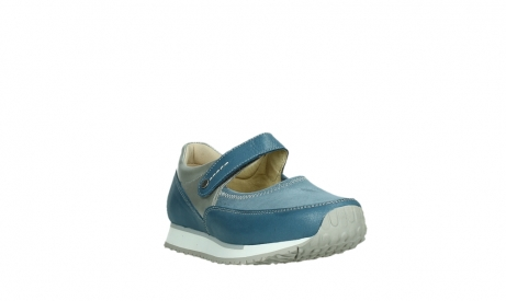 wolky mary janes 05805 e step 87860 steel blue pearl stretch leather_5