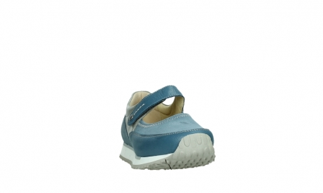 wolky mary janes 05805 e step 87860 steel blue pearl stretch leather_6