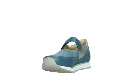 wolky mary janes 05805 e step 87860 steel blue pearl stretch leather_9