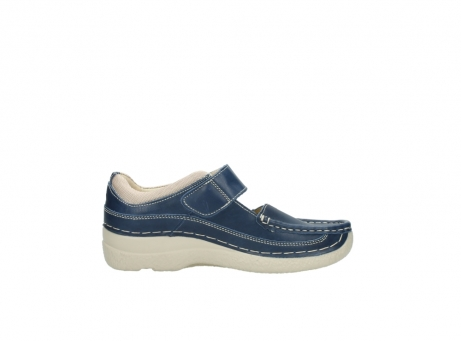 wolky mary janes 06235 roll combi 30870 blue summer leather_13