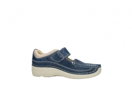 wolky mary janes 06235 roll combi 30870 blue summer leather_14