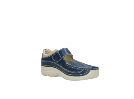 wolky mary janes 06235 roll combi 30870 blue summer leather_16