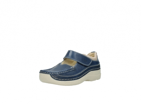 wolky mary janes 06235 roll combi 30870 blue summer leather_22