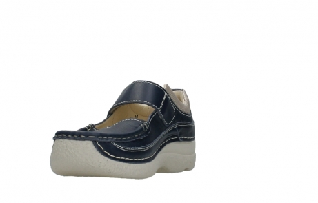 wolky mary janes 06235 roll combi 30870 blue summer leather_3