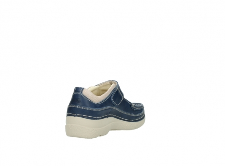 wolky mary janes 06235 roll combi 30870 blue summer leather_9
