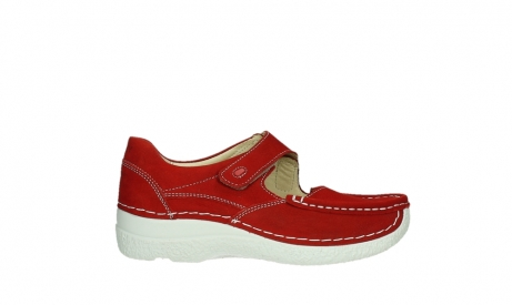 wolky mary janes 06247 roll fever 11570 red nubuck_1