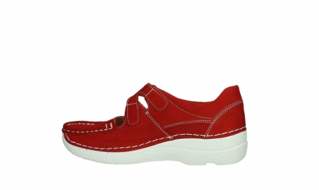 wolky mary janes 06247 roll fever 11570 red nubuck_14