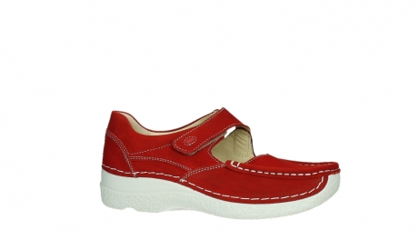 wolky mary janes 06247 roll fever 11570 red nubuck_2