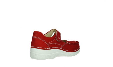 wolky mary janes 06247 roll fever 11570 red nubuck_22